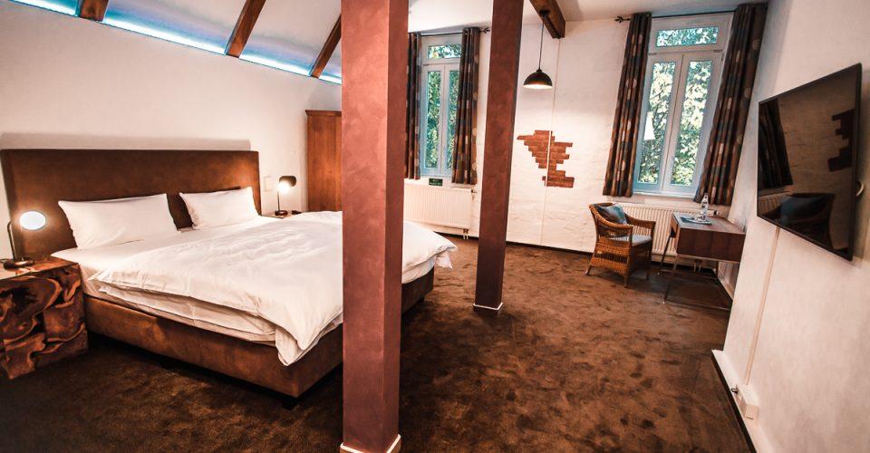 Das Zimmer Kahlaue im Hotel Kahltalmühle