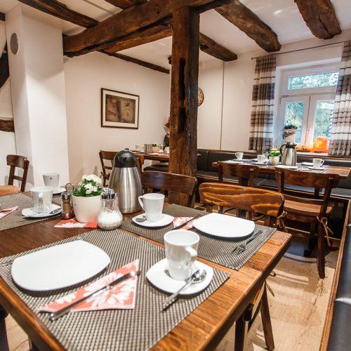 Hotel Kahltalmühle das Restaurant
