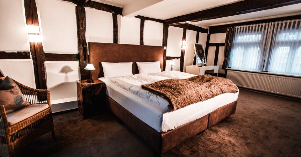 Das Zimmer Mühlenstube im Hotel Kahltalmühle