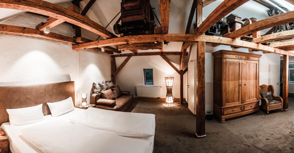 Die Mühlensuite im Hotel Kahltalmühle