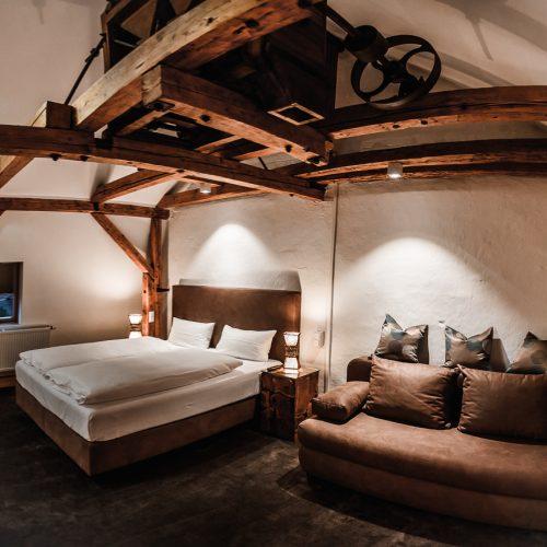 Hotel Kahltalmühle die Mühlensuite
