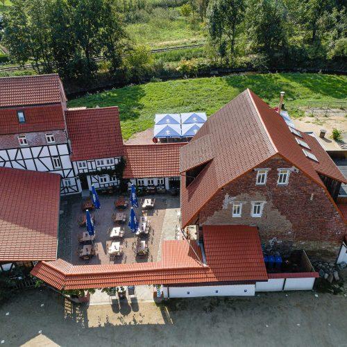 Das komplett sanierte Hotel Kahltalmühle